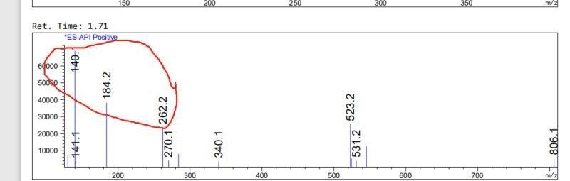LCMS-1 of (S)-2-(tert-Butoxycarbonylamino)-4,4-difluorobutanoic acid CAS 467442-20-2