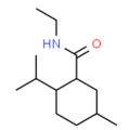 Structure of N-Ethyl-p-menthane-3-carboxamide CAS 39711-79-0