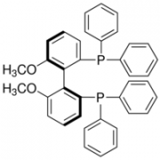 Structure of (S)-(-)-2,2'-Bis(diphenylphosphino)-6,6'-dimethoxy-1,1'-biphenyl CAS 133545-17-2