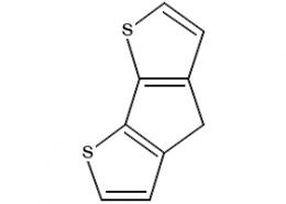 Structure of 4H-cyclopenta[1,2-b5,4-b']bisthiophene CAS 389-58-2