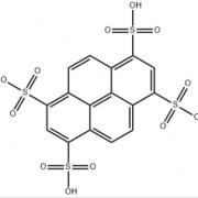Structure of 1,3,6,8-Pyrenetetrasulfonic acid CAS 6528-53-6
