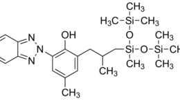 Structure of Drometrizole Trisiloxane(Mexoryl XL) CAS 155633-54-8