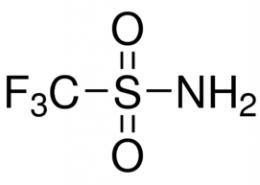 Structure of Trifluoromethanesulfonamide CAS 421-85-2