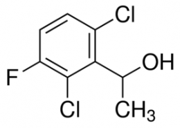 Structure of 1-(2,6-Dichloro-3-fluorophenyl)ethanol CAS 756520-66-8
