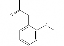 Structure of 2-Methoxyphenylacetone CAS 5211-62-1