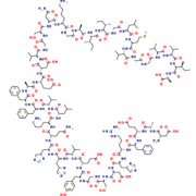 Structure of Beta-AmyloidPeptide(1-42),CAS 107761-42-2