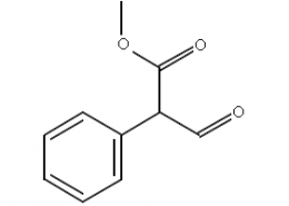 Structure of Methyl 3-oxo-2-phenylpropanoate CAS 5894-79-1