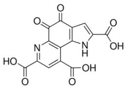 Structure of Pyrroloquinoline quinone CAS 72909-34-3