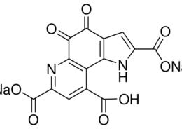 Structure of Pyrroquinoline benzoquinone sodium salt CAS 122628-50-6