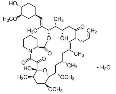 Structure of Tacrolimus CAS 109581-93-3