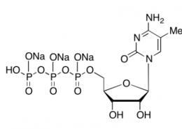 Structure of 5-Methylcytidine 5'-Triphosphate (CPT) Trisodium Salt CAS 327174-86-7
